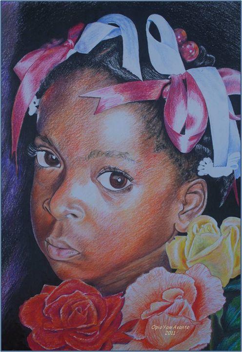 Flower Girl - Opio Yaw Asante