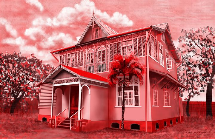 Old Colonial House 2 - Opio Yaw Asante
