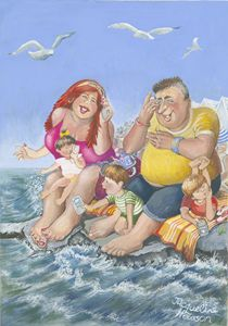 FAMILY OUTING TO THE SEASIDE