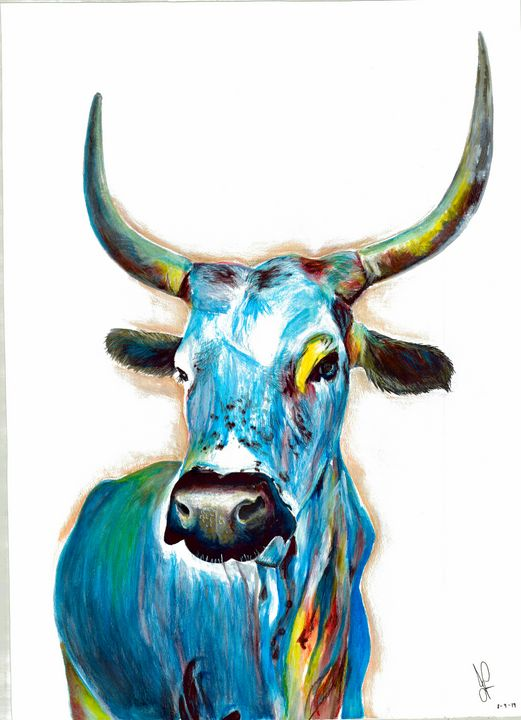 De Bloue Bull - Aloe Art
