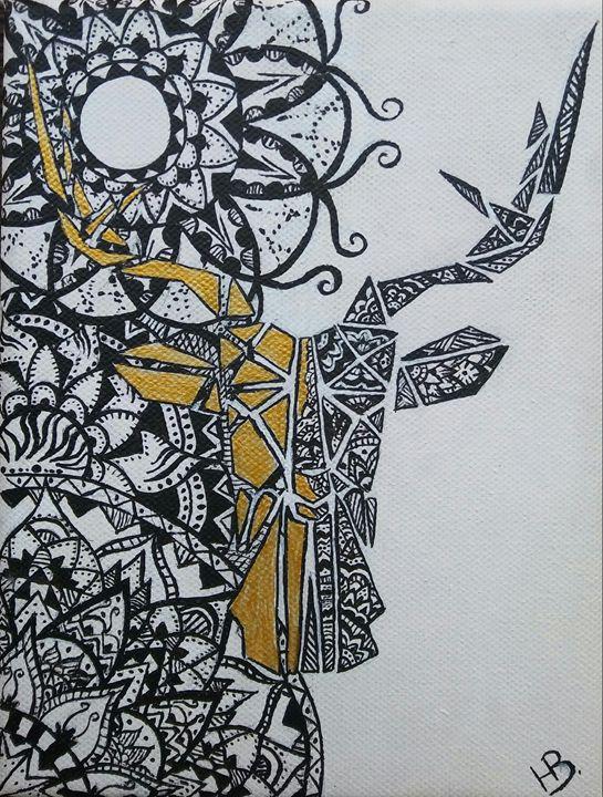 Ornamental deer - HellEna