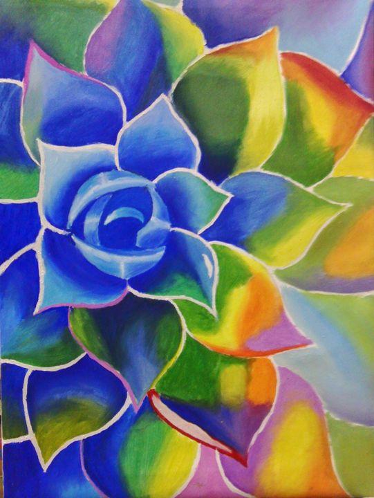 Colorful flower - HellEna