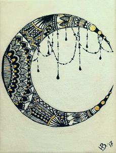 Ornamental Moon