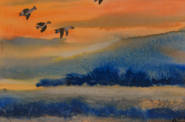 Landscapes at peace - Arifa Abbas