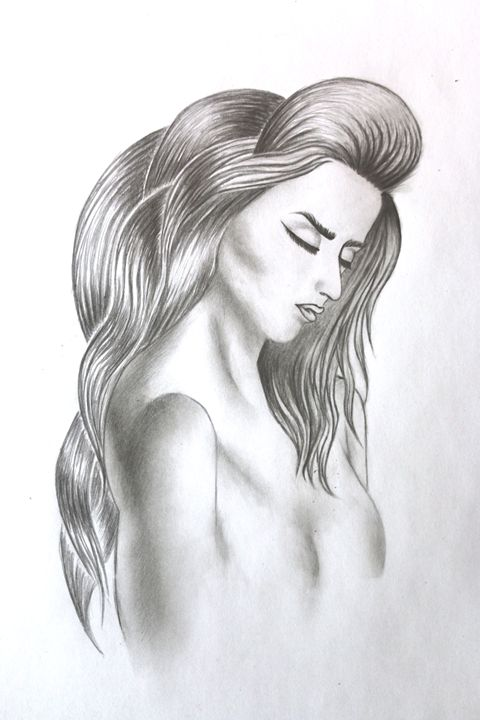 Naked women drawing - MySketches