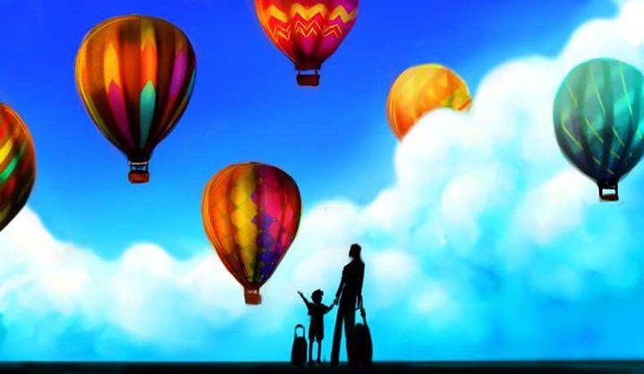 Colorful Sky - Amy Bucher