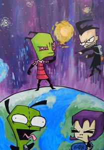 Invader Zim Take Over