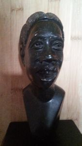 GIRL WITH BRAIDS - Muza African Artistry