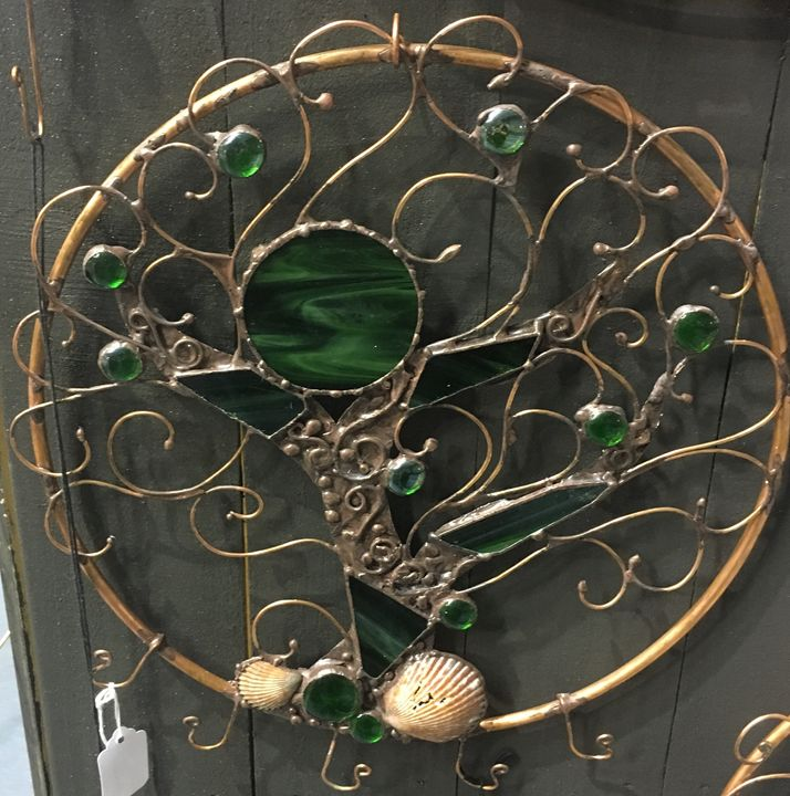 Tree scape in green - The Copper Shopp