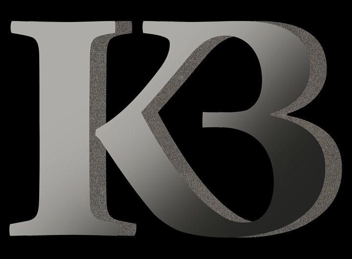 'Your name' - K B Monogram 2 - Attila Meszlenyi