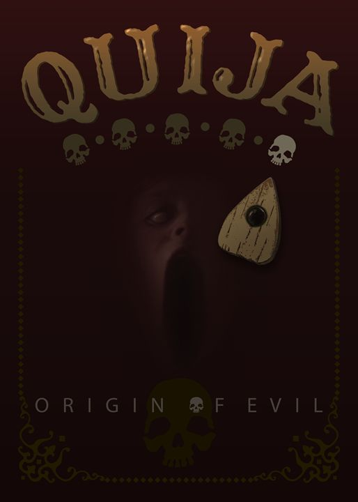 Quija, Origin of Evil, movie poster - Attila Meszlenyi