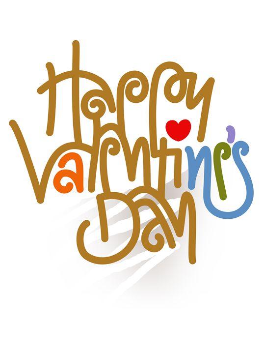 Happy Valentine's Day Poster - Attila Meszlenyi