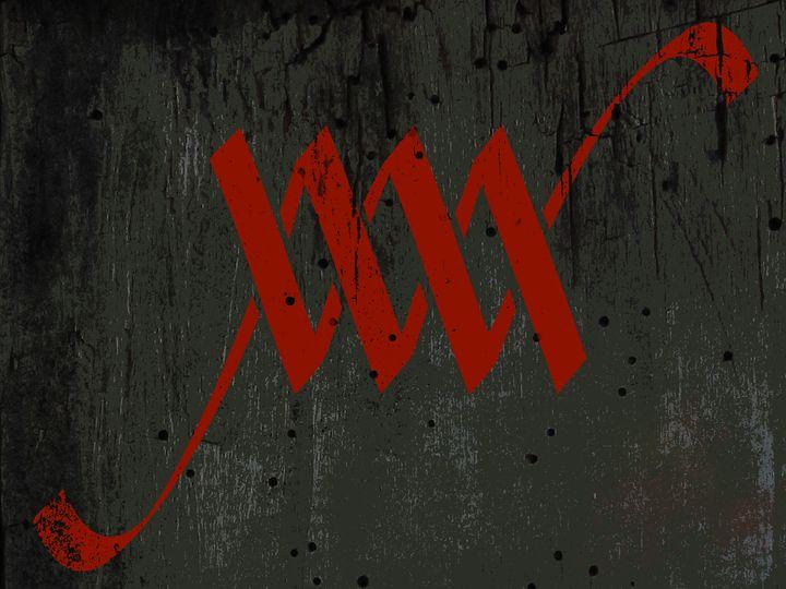 'Your name' - W M or M W Monogram - Attila Meszlenyi