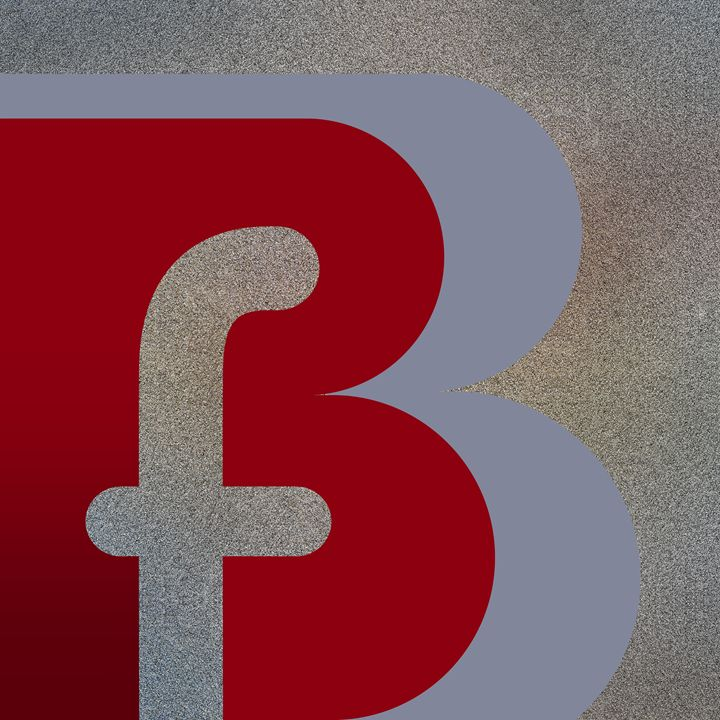 'Your Name' - B F or F B Monogram - Attila Meszlenyi