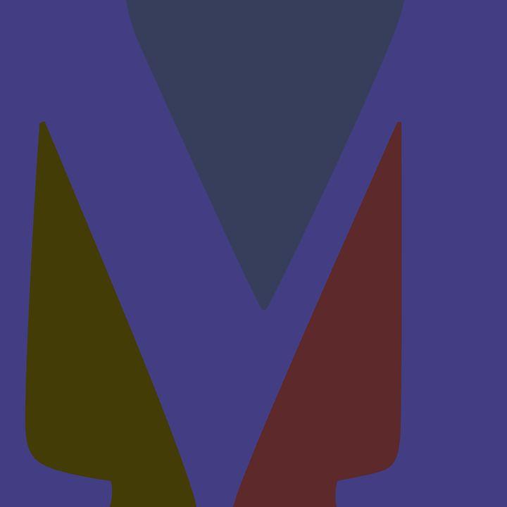 'Your name' - M Monogram - Attila Meszlenyi