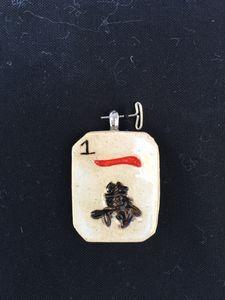 Mahjong tile jewelry