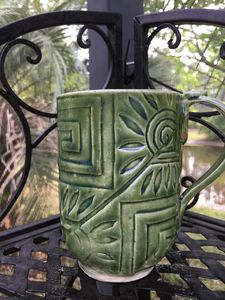 Decorative Coffee Mug - Potter's Wheel