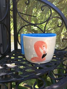 Flamingo Sponge holder