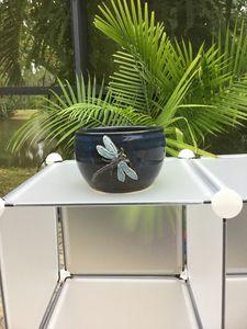 Dragonfly ceramic plant holder $27.0 - Potter's Wheel