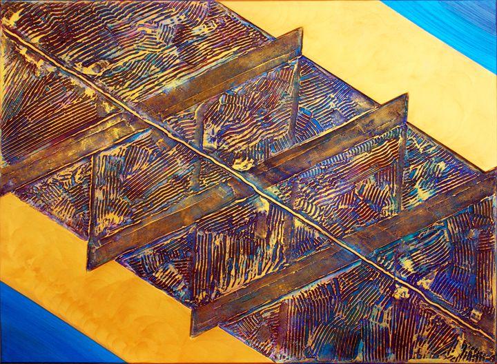 Gold Pattern Phase Three - ArtGallery
