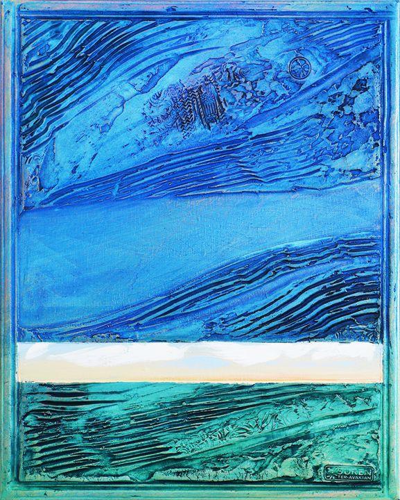 Blue Waves (first) - ArtGallery