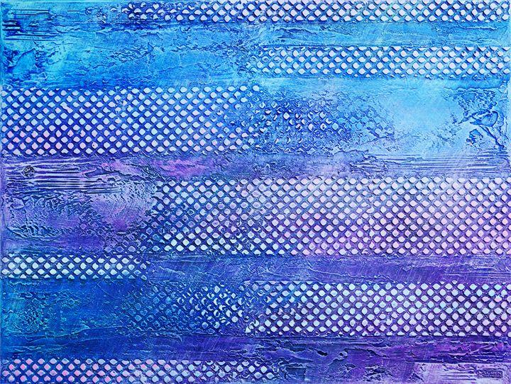 Blue Pixels - ArtGallery
