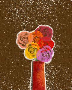 Roses in a vase 2