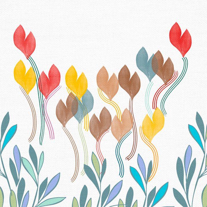 Butterfly flowers - ArtatNavita's