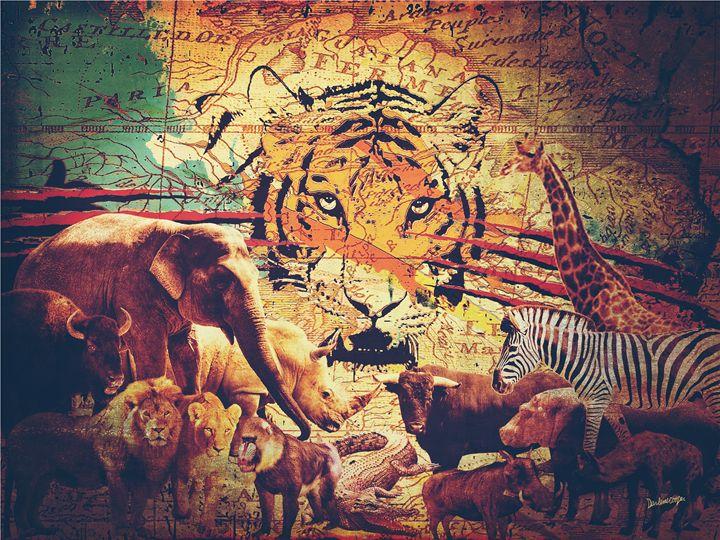 Animal Kingdom - Tiphara Art