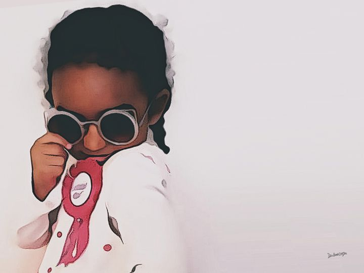 I love sunglasses  . . . - Tiphara Art