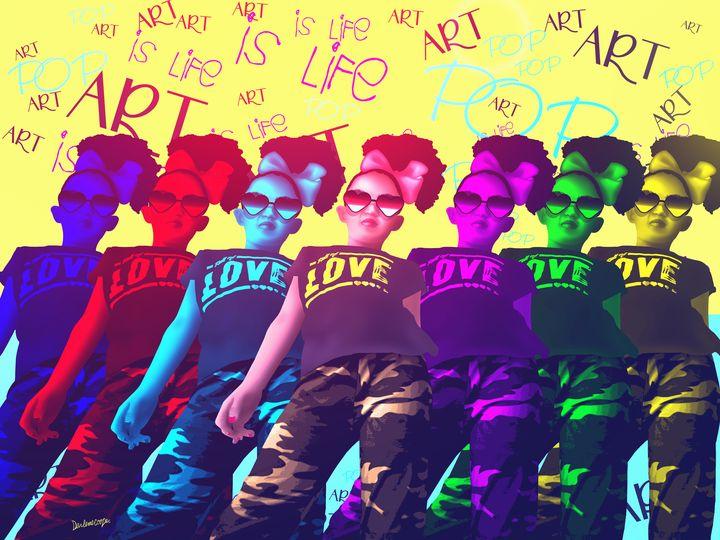 Pop Art Vibes - Tiphara Art