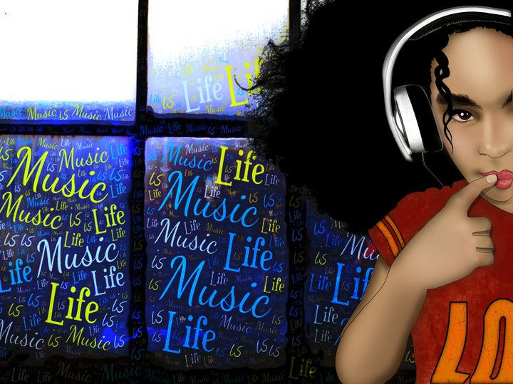 Music is Life - Tiphara Art