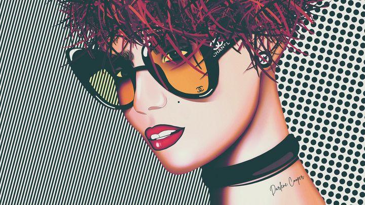 Chanel Chic Pop Art - Tiphara Art
