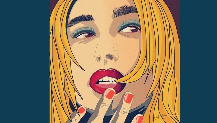Hailey Pop Art - Tiphara Art