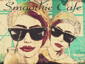 Smoothie Cafe Pop Art