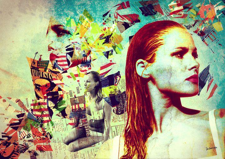 Ursula Andress Pop Art / Collage - Tiphara Art
