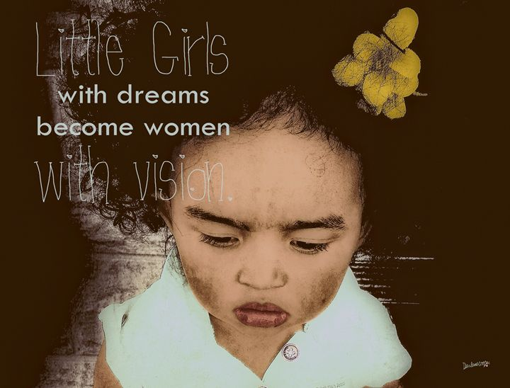 Little Girls . . . with vision. - Tiphara Art