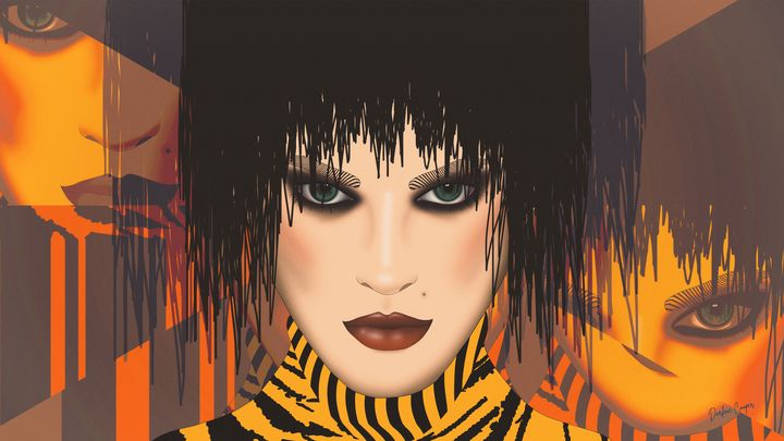 Envy Eyes Pop Art - Tiphara Art