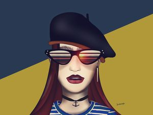 The Mighty Beret (PopArt)