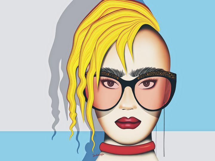 Blondie (Pop Art) - Tiphara Art