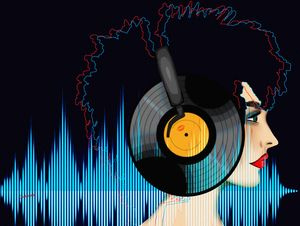 Music is Everything to Me (Pop Art)