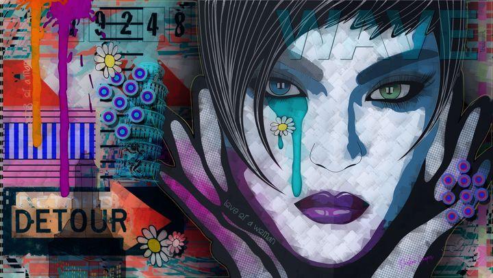 Love of a Woman Pop Art - Tiphara Art