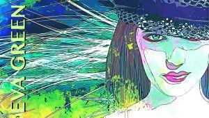 Eva Green Pop Art