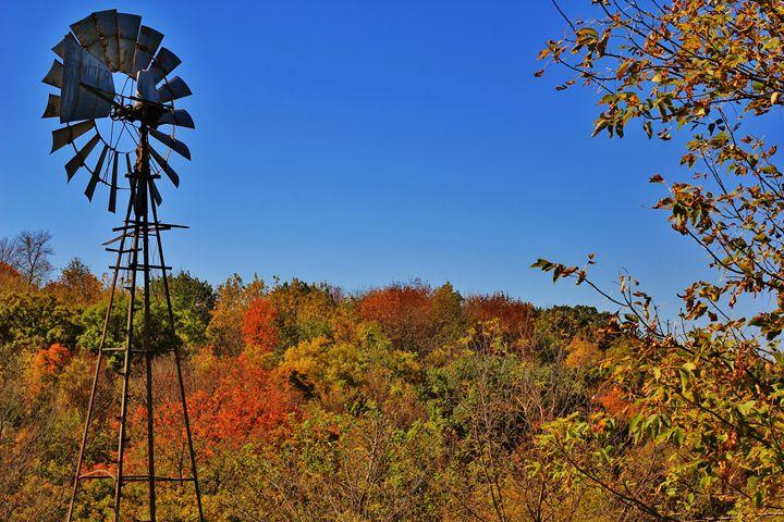 Blue Sky Windmill - Ryan Earl