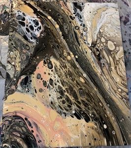 Original contemporary abstract paint