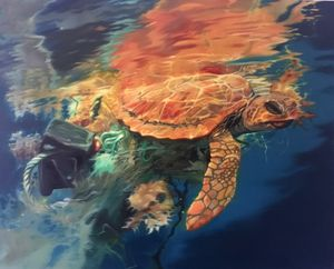 turtle tangled