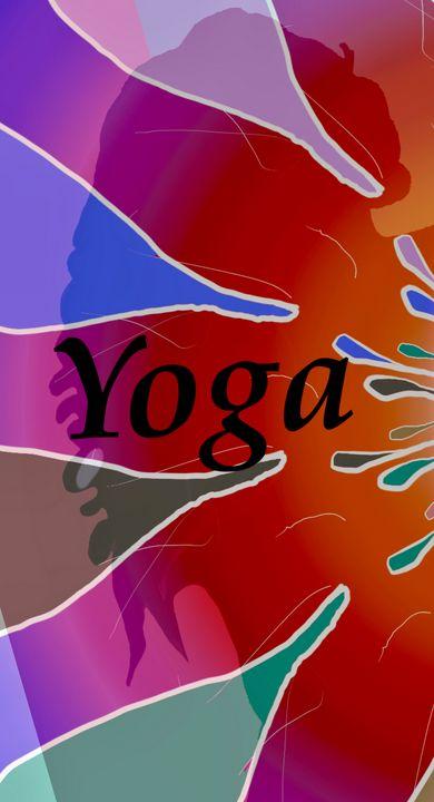 Yoga Girl Sign - Chris Dippel