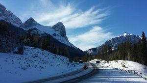 Na Ling Peak Canmore Alberta
