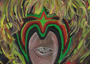 Ultimate Warrior Abstract