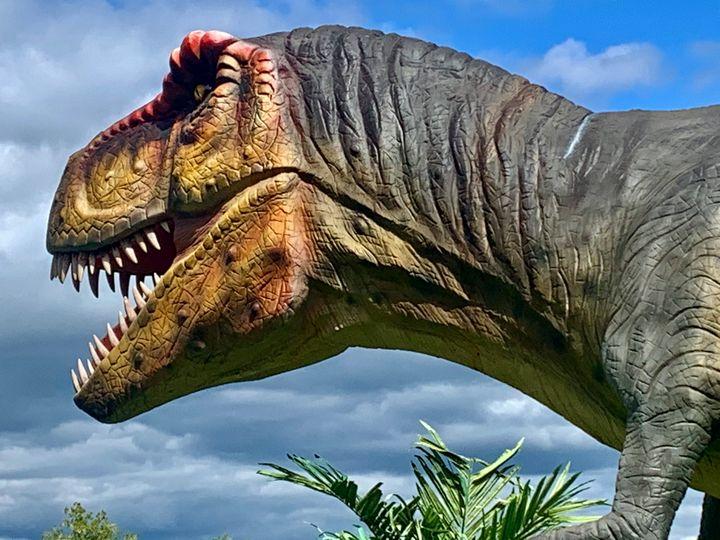 Angry T-Rex - Chris Dippel